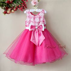 Wholesale cheap baby dress online, sleeveless - Find best hot pink lace baby girls 2012 tutu christmas pageant dresses With bow children ball petti skirt kids at discount prices from Chinese children's dresses supplier on . Baby Girl Party Dresses, Toddler Girl Dresses, Baby Dress, Little Girl Dresses, Girls Dresses, Flower Girl Dresses, Flower Girls, Ball Gown Dresses, Pageant Dresses
