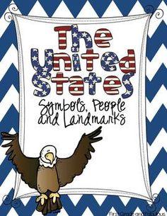 The United States: Symbols, People and Landmarks--A mini unit $