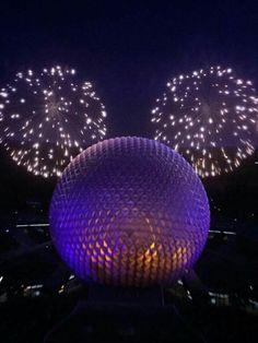 EPCOT • Nightly Fireworks • Walt Disney World • Orlando, Florida