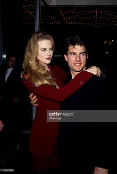 Nicole Kidman and Tom Cruise during Premiere of ''A Few Good Men'' at... News Photo | Getty Images