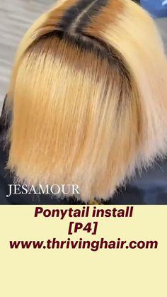 Hair Ponytail Styles, Ponytail Hairstyles, Cute Hairstyles, Hair Styles, Ponytail Extension, Black Wig, Hair Remedies, Black Girls Hairstyles, Turban
