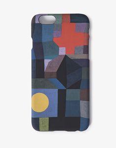 Coque iPhone 6 reproduisant « Pleine lune » de Paul Klee | iPhone 6 #backcover inspired by Paul Klee. electronic #accessories https://boutique.centrepompidou.fr/fr/accessoires-high-tech/coque-iphone-6-paul-klee-feu-par-pleine-lune/914.html
