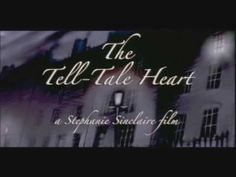 The Tell-Tale Heart - Short Film of the Edgar Allen Poe Story.  Nicely creepy cartoon with James Mason narrating. But read the story first!