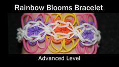 Rainbow Loom® Rainbow Blooms Bracelet How to Video Tutorial