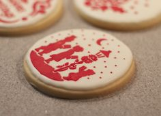 Tutorial.Azúcar con Amor: Galletas decoradas con glasa y estarcido