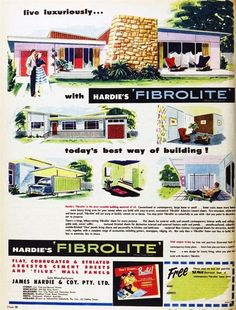 mid century modern home ad