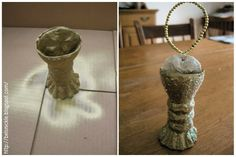 Belsnickle Blogspot : Craft a Communion Cup for The Chrismon Tree