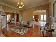 Find this home on Realtor.com Semi Open floor plan