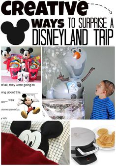 Fun & creative ways to surprise your family with a trip to Disney World or Disneyland