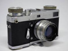 Sovet camera LENINGRAD.Lens JUPITER 8 P 2/50 USSR