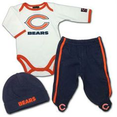 59 Best Chicago bear baby clothes images in 2013 | Chicago bears  for cheap
