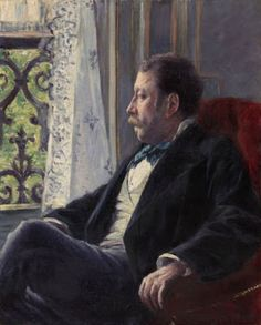 Gustave Caillebotte - Portrait of a Man – 1880