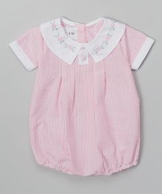 Pink Stripe Bubble Bodysuit