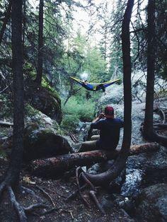 getting my hammock