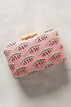 Watermelon Crossbody Clutch #anthropologie