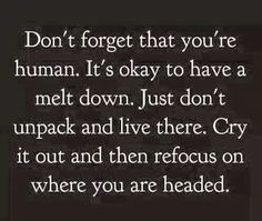 We're only human!
