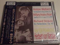 CD KARAJAN NEW YORK PHILHARMONIC LIVE 1958 NEU OVP  SUPER RARE OBI in Musik, CDs   eBay!