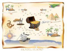 Mapa de la Isla del Tesoro