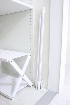 これは便利!室内干しも浮かせて干せる!目立たないベルメゾンの壁付け物干し|LIMIA (リミア)
