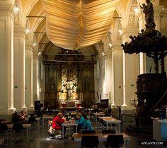 'Parnassus' Social Restaurant // @ Franciskanenkerk, Ghent | Afflante.com