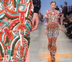 runway SS14 texture prints 5 Print Trends | Textured Patterns