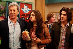 Charles Shaughnessy as Mason Thornesmith on the May 19th episode of TORI GOES PLATINUM on Victorious with Victoria Justice on  @Victoria Brown Justice