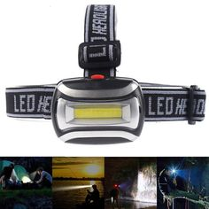 """Universe of goods - Buy """"High Quality Mini Plastic LED Headlight Headlamp Head Light Lamp Flashlight Torch For Camping Hiking Fishing"""" for only USD. Circuit Design, Torch Light, Fish Camp, Led Headlights, Flashlight, Lamp Light, Light Colors, Cool Things To Buy, Head Light"""
