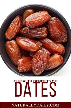 11 Health Benefits of Dates (Scientifically Proven) - 11 Health Benefits of Dates (Scientifically Proven) Traditionally, date fruits have been referred i - Nutrition Chart, Nutrition Plans, Health And Nutrition, Health Tips, Health And Wellness, Fruit Nutrition, Health Heal, Natural Remedies For Allergies, Natural Headache Remedies