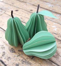 paper fruit decorations