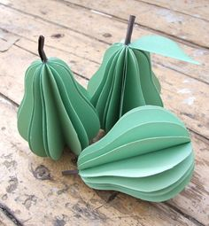 paper fruit decorations