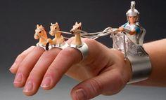 Wonderful chariot jewellery !