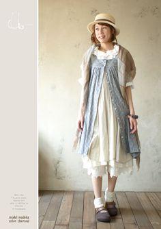 森ガール (mori girl style) - fall / winter style inspiration: Soulberry brand from Ratuken (available also online)