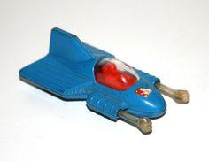 """Vintage 1979 Corgi SUPERMOBILE 3"""" Long Diecast Car (DC, Superman)"""
