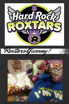 Hard Rock Cafe Roxtars Giveaway! (ends Oct. 28) - Money Saving Parent Approx. value $105.00 and includes a $50 Hard Rock gift card!