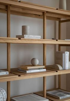 Kinuta Terrace is a beautiful and minimalist space located in Tokyo, Japan, designed by Keiji Ashizawa in collaboration with Norm Architects … Decor, Furniture Design, Interior Furniture, Shelves, Interior, Shelving, Home Decor, House Interior, Apartment Decor