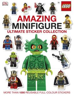 Buy LEGO (R) Amazing Minifigure Ultimate Sticker Collection by DK at Mighty Ape NZ. With more than LEGO (R) minifigure stickers, this fun LEGO sticker book is a must-have for young LEGO fans. Meet all your favourite LEGO minifi. Dk Books, Lego Books, Dk Publishing, Lego Ninjago Movie, Buy Lego, Lego Minifigure, Reading Levels, Lego City, Book Activities