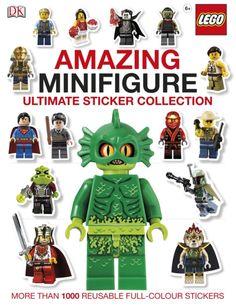 LEGO Amazing Minifigure Ultimate Sticker Collection (9781409367826) | hive.co.uk