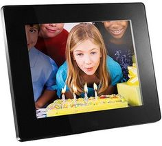 "Aluratek 8"" Hi-Res Digital Photo Frame (ADMPF108F)"