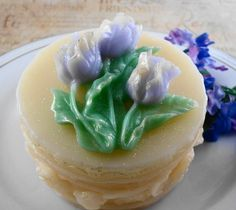 Soap  Blooming Tulips Soap Made with Goats Milk  by SoapGarden