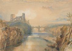 Barnard Castle, 1825, Joseph Mallord William Turner