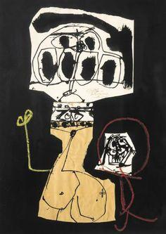 Maternidad  Antonio Saura (1930-1998)