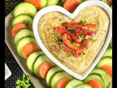 Recipe: Roasted Red Pepper Hummus (Video) - Health Essentials from Cleveland Clinic