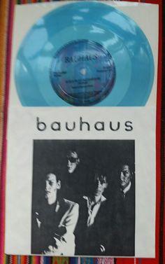 Bauhaus - A God in an Alcove 7-inch flexi Flexipop