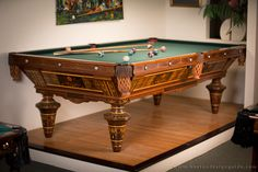 Boston Billiard Emporium | Antique Billiard Tables in Somerville, MA | Boston Design Guide