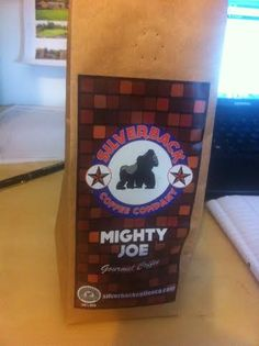 Bag of Silverback Coffee Co Mighty Jo Blend Mighty Joe, Rc Cola, Beverages, Drinks, Soda, Canning, Coffee, Bag, Drinking