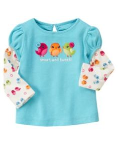 Gymboree 7/30/12 ~ seriously, the whole line is birds...so stinkin' cute!!!