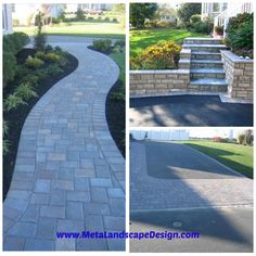 Metamorphosis Landscape Design of Long Island designs and installs patios, walks, walls and decking to connect up your outdoor living spaces.