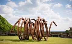 Bernar Venet has brought the South of France to Buckinghamshire this summer, transforming the English countryside into a contemporary imagining of the jardin à la française at Cliveden House – complete with the sweltering heat, but sadly without the ar...