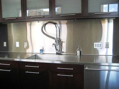 simple stainless backsplash willewoodwork