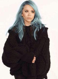 Photoshopped hair